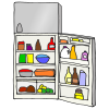 Open Refrigerator Picture