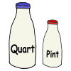 Quart and Pint Picture