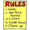 I+will+learn+and+follow+my+first+grade+rules. Picture