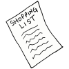 Shopping List Picture