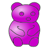 Purple Bear Picture