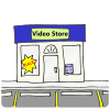 Video Store Picture