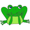 Bored Frog Picture
