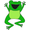 Excited Frog Picture