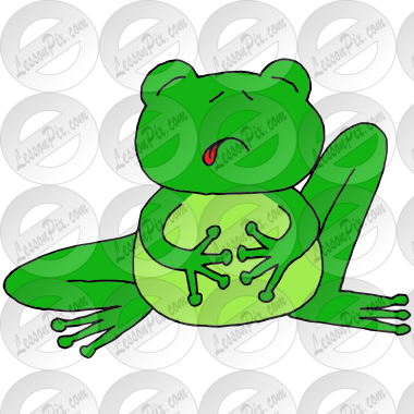 Sick Frog Picture
