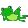 Lazy Frog Picture