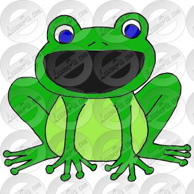 Loud Frog Picture