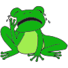 Sad Frog Picture