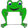 Sign Frog Picture