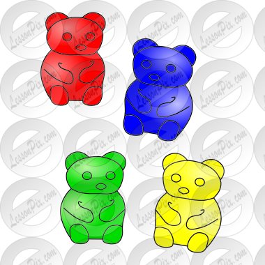 Gummy Bears Picture for Classroom / Therapy Use - Great Gummy ...
