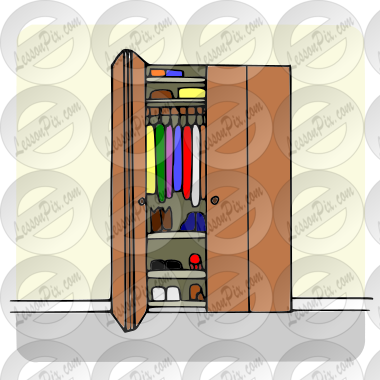 Closet Picture For Classroom Therapy Use