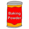 We+add+baking+powder+to+the+flour Picture