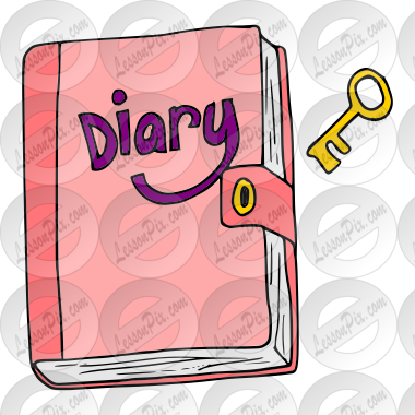 Diary Clip Art