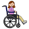 physically disabled Picture