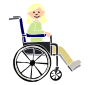Girl in Wheelchair Stencil