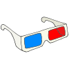 3D Glasses Picture