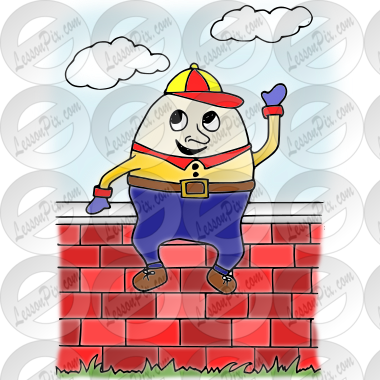 Clip Art Humpty Dumpty Clip Art humpty dumpty picture for classroom therapy use great picture