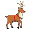 red nose reindeer Picture
