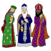 3 wise men Picture