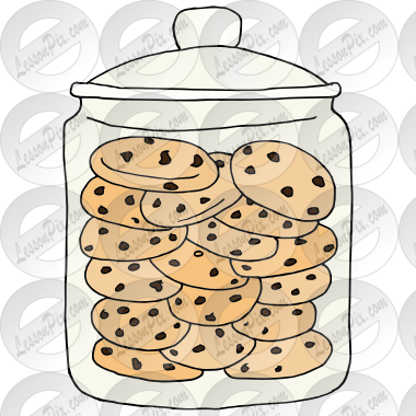 cookie jar picture for classroom therapy use great cookie jar rh lessonpix com cookie jar clipart black and white clipart cookie jar