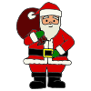 Santa+makes+a+list+of+family+members+to+invite. Picture
