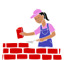 Bricklayer Stencil