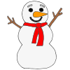 Snowman_+Snowman+What+do+you+see_ Picture