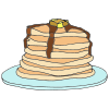 Eat+pancakes Picture