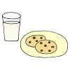 Milk and Cookies Picture