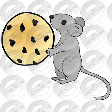 Mouse with a Cookie Picture