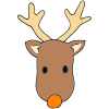 Orange+Nose+Reindeer Picture
