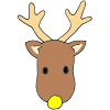 Yellow+Nose+Reindeer Picture