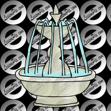 Fountain Clipart Fountain picture