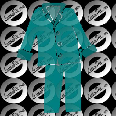 pajamas stencil for classroom therapy use great pajamas clipart rh lessonpix com clipart pajamas free pajamas clipart black and white
