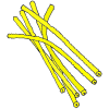 Yellow Pipe Cleaners Picture