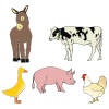 Farm+animals Picture