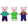 Three Pigs Picture