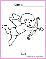 Cupid Coloring