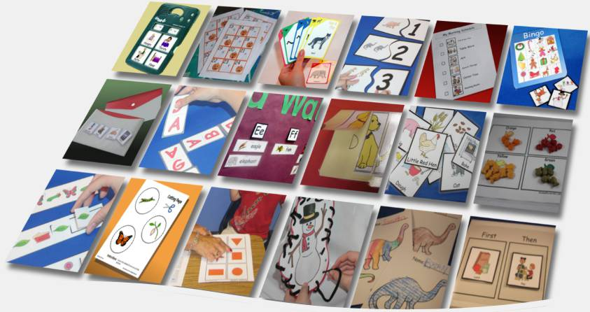 Classroom Ideas Year 1 ~ Lessonpix custom learning materials picture cards