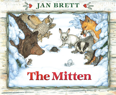 image about The Mitten Story Printable named Lesson System: The Mitten-Tale People and Series