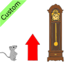 The+mouse+went+up+the+clock. Picture