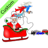 Toy+cars+and+planes+try+to+pull+the+sleigh. Picture