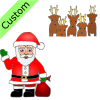 Santa+finds+the+reindeer. Picture