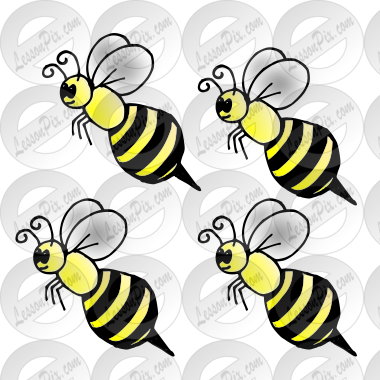 4 bumble bees Picture
