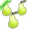 3 pears Picture