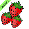 3 strawberries Picture