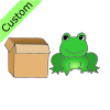 Frog+by+Box Picture