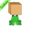 Frog+under+Box Picture