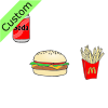 Hamburger+and+fries Picture